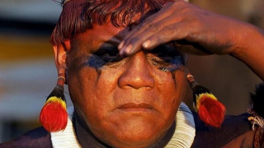 Aritana era poliglota e conhecia profundamente a cultura de diversos povos do Xingu — Foto: AFP via BBC