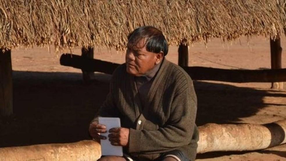 Aritana era uma liderança reconhecida pelos diversos povos do Xingu — Foto: Tapí Yawalapiti via BBC