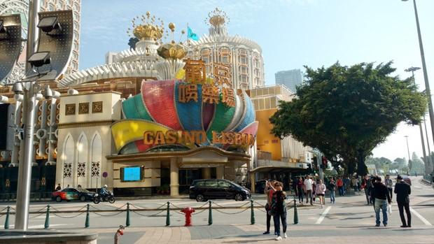 Cassino Lisboa, um dos muitos cassinos de Macau